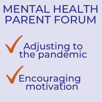 RESCHEDULED: Mental Health Parent Forum to be Held on 10/14